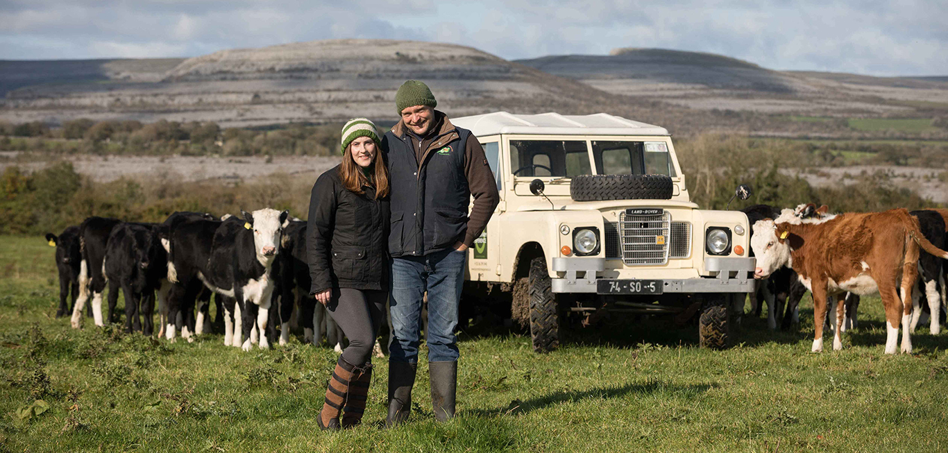 Burren Farm Experience offer farm tours, agricamping, dropshaped camper rentals and fresh meatboxes delivered nationwide.
